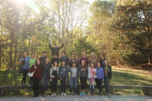 ECO members at the Hahn Woods Restoration Event in October 2016 (Photo credit: Trees Atlanta)