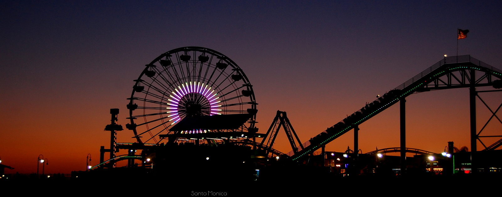 Skyline of the city of Santa Monica, CA (Photo credit: Irina Patrascu Gheorghita)